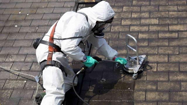 nettoyage toiture amiante