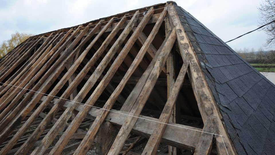 refection toiture charpente