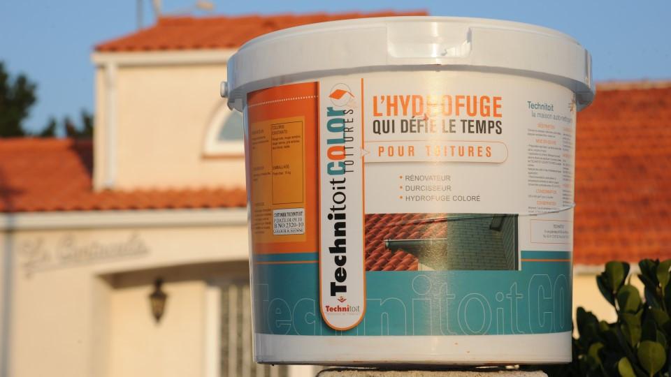 hydrofuge toiture colore