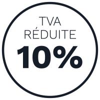 tva reduite 10%